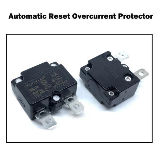 Leistungsschalter Überlastschalter Automatischer Rückstellung Überstromschutzes
