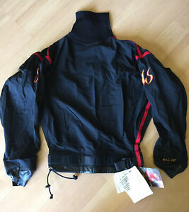 New With Tags Wave Sport Drysuit Jacket Red /& Black Size Lrg Kayak//water Sports