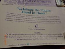 "Don""Ducky"" Williams Certificate of Authenticity For Millennium LE Cast MBR Litho"
