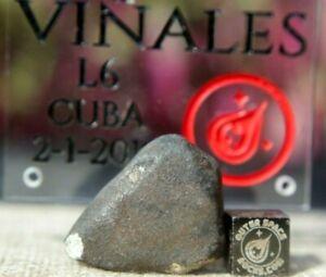 Vinales-Meteorite-17-gram-individual-from-Cuba-L6-Chondrite-Shock-level-3