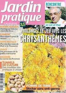 Confiant Jardin Pratique N°189 Nov 2012 Chrysanthemes