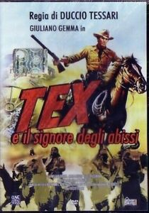 DVD-FILM-WESTERN-80-GIULIANO-GEMMA-TEX-WILLER-MOVIE-FUMETTI-WEST-COWBOY-BONELLI