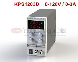 KPS1203D Adjustable Mini Switch DC Power Supply Output 0-120V 0-3A AC110-220V