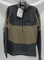 Patagonia Mens L/s R1 Field 1/4 Zip Pullover 52720 Ash Tan Size 2xl