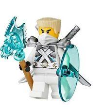 LEGO Ninjago Zane w/ Katanas, shield, axe, Battle for Ninjago City 70728 New