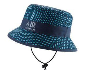 New Nike Air Jordan Jumpman Stencil Bucket Hat 658386-410 Midnight ... 83886e9f788