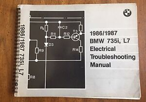 image is loading 1986-1987-bmw-735i-amp-l7-electrical-troubleshooting-