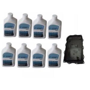 Bmw 8hp Auto Trans Service Kit Oil Pan Filter Kit Gasket Plugs 9l