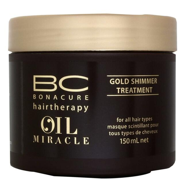 NEW Schwarzkopf BC Bonacure Oil Miracle Gold Shimmer Treatment 150ml