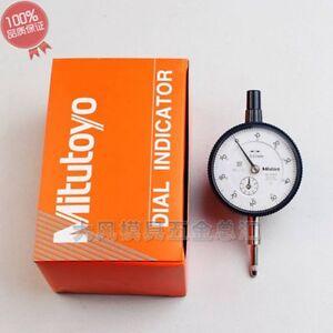 New-Mitutoyo-2<wbr/>046S-Dial-Indi<wbr/>cator-0-10mm-X<wbr/>-0-01mm-Grad-h<wbr/>ot good