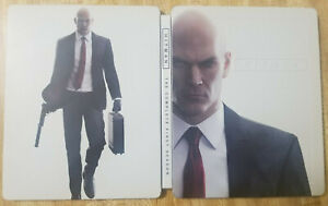 Hitman-Steelbook-NO-GAME-Steel-Book-Only-PS4-Xbox-One