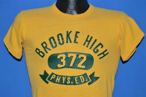 vtg 50s BROOKE HIGH SCHOOL 372 PHYS. ED. WEST VIRG