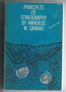 Amadeus W Grabeau  PRINCIPLES OF STRATIGRAPHY Vol I  1960 PB - <span itemprop='availableAtOrFrom'>Hull, Humberside, United Kingdom</span> - Amadeus W Grabeau  PRINCIPLES OF STRATIGRAPHY Vol I  1960 PB - Hull, Humberside, United Kingdom