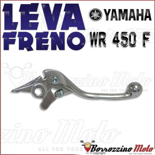 LEVA FRENO DESTRA CROMATA REGOLABILE YAMAHA WR 450 F 2012 2013 2014