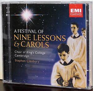 Image Is Loading EMI 2 CD Set Festival Of 9 Lessons