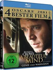 A BEAUTIFUL MIND (Russell Crowe, Ed Harris) Blu-ray Disc NEU+OVP