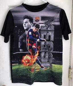 cheap for discount eaae3 d9644 FC Barcelona Official Merchandise Lionel Messi Graphic ...