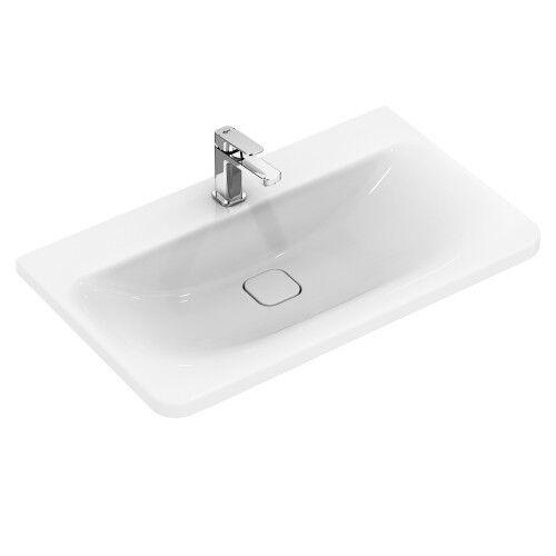 Ideal Standard Tonic II Wall Mounted White Vanity Basin 1th K087901 ...