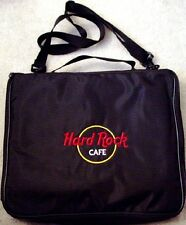 Hard Rock Cafe LARGE Black PIN Trading Storage BAG HRC Logo NEW 5 2-Sided Pages+