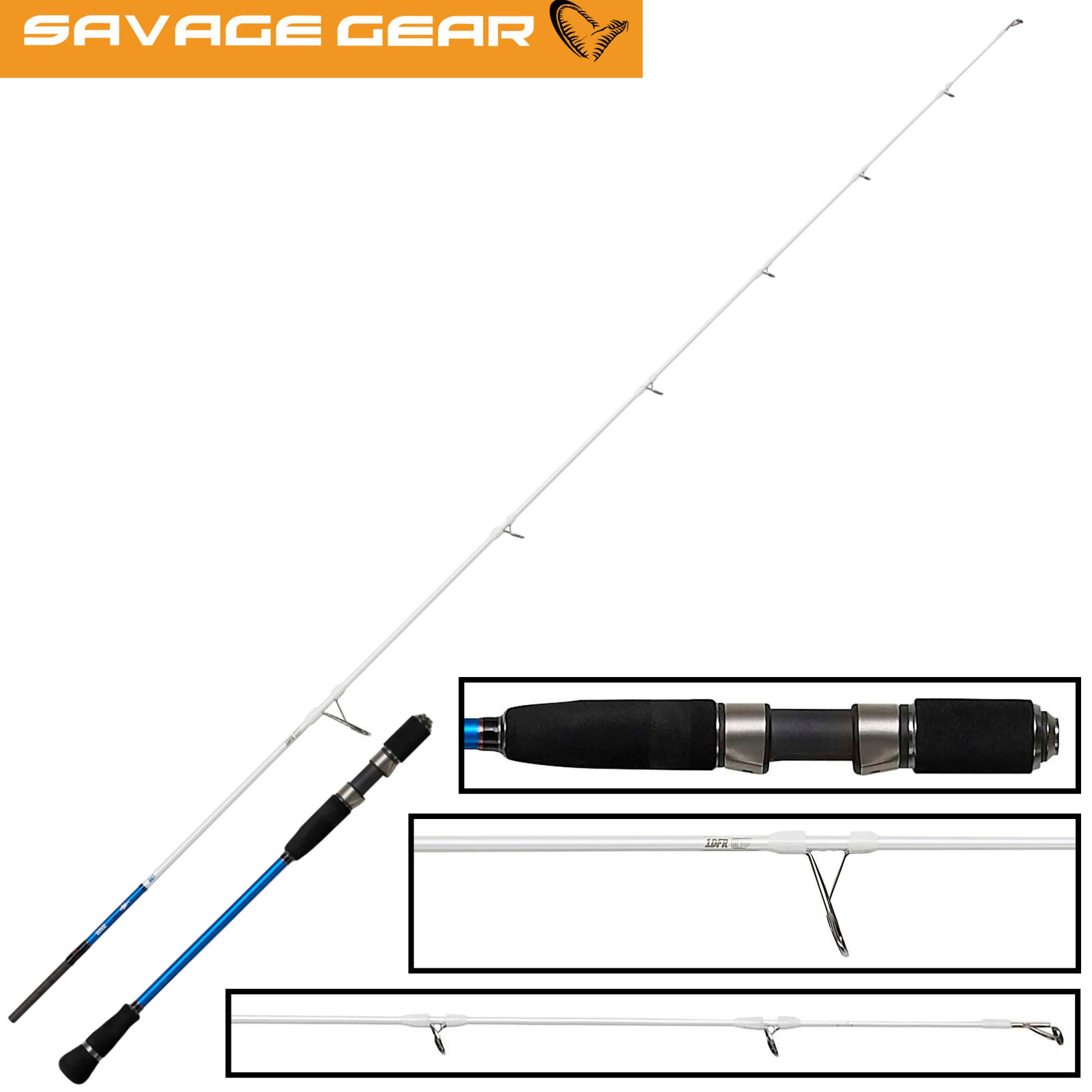Savage Savage Savage Gear Salt 1DFR Slow Jigging 2,03m 20-90g - Spinnrute zum Dorschangeln 2d9736