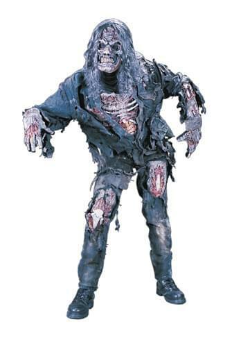 Iron Maiden Eddie Zombie Costume Adult Standard