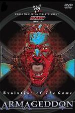 WWE - Armageddon Evolution of The Game 2003 (ALL REGION DVD ENGLISH LANGUAGE)