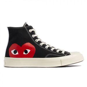 Scarpe Sneaker Converse x Comme des Garcons Play All Star Originali Nuove