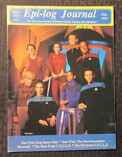 1993 EPI-LOG JOURNAL Magazine #13 FN+ 6.5 Star Trek Deep Space Nine