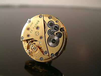 LUXURY VINTAGE GOLD PLATED 22mm STEAMPUNK WATCH MOVEMENT CUFFLINKS MENS GIFT