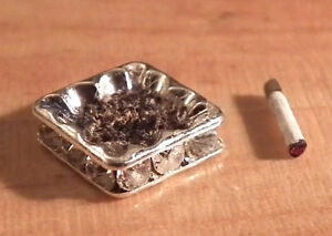 1-12-Dolls-House-miniature-Ashtray-amp-Cigarette-Handmade-Lounge-Set-Pub-Study-LGW