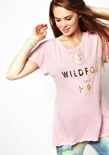 WILDFOX COUTURE LOVE POTION NO. 9 PINK TEE TOP M 12 8 40!