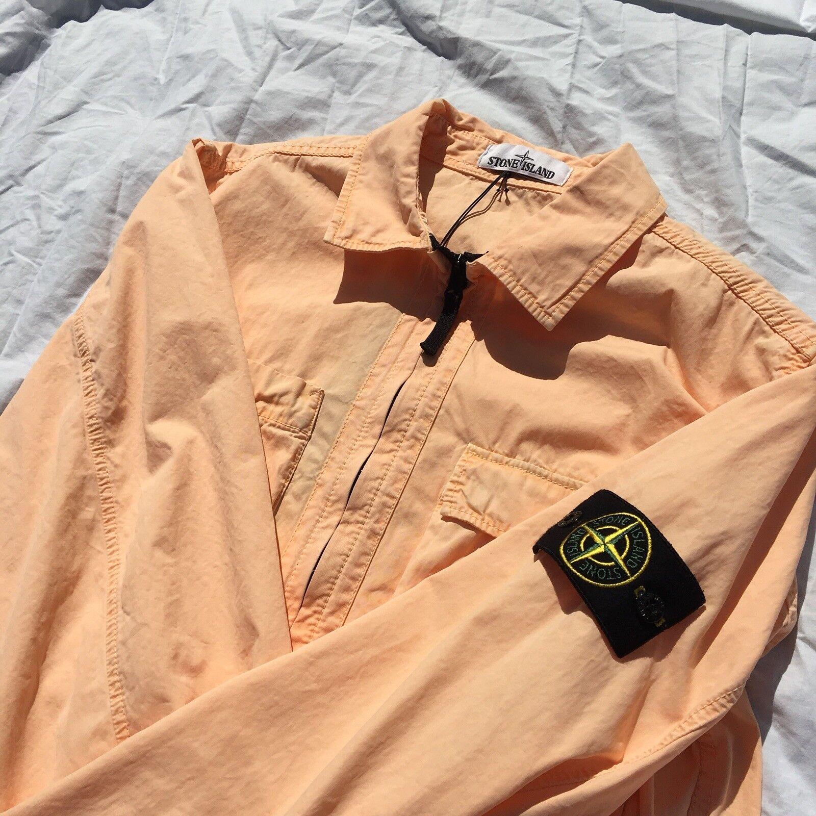 SS18 Stone Island Overshirt / Large