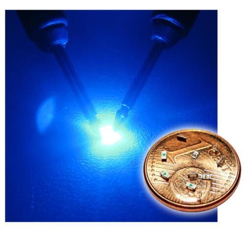 /_ 20 bleu smd LEDs 0603//mini LED smds Bleu Blue bleue azzurro Blauw Azul
