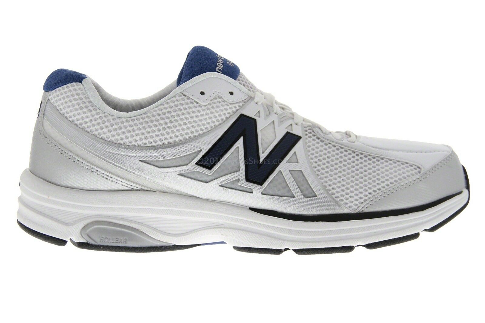 NEW New Balance Men MW847WT2 847 Walking Shoe White Size 9 - 2A