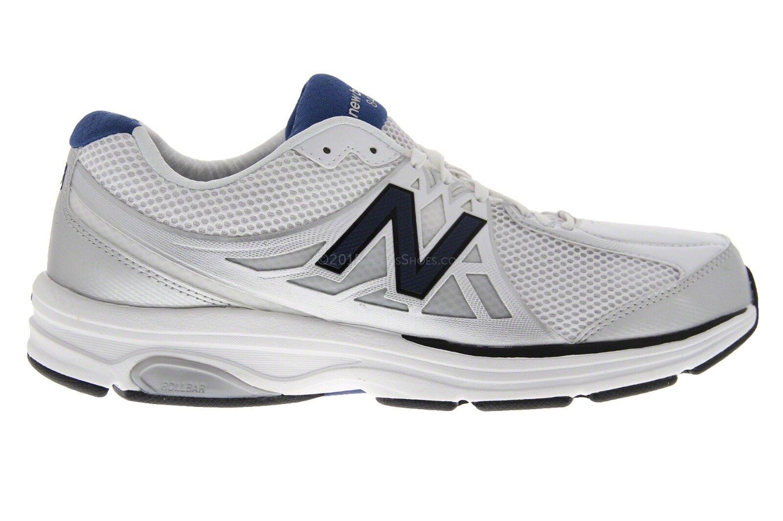 NEW New Balance Men MW847WT2 847 Walking Shoe White Size 12.5 - 2E