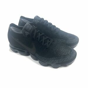 size 40 07845 4274e Details about NWT Nike Men's Triple Black Air Vapormax Flyknit NikeLab  Sneakers 14 AUTHENTIC