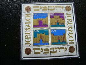 Israel z9 Briefmarke Zur Verbesserung Der Durchblutung Briefmarke Yvert Und Tellier Block N° 9 N