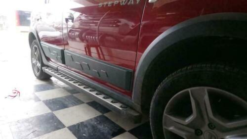 2013-19 Dacia Sandero Stepway ABS Frottement Rayures Porte Protection Côté