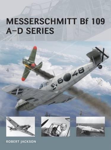 Jackson Robert-Messerschmitt Bf 109 A-D Series (UK IMPORT) BOOK NEW