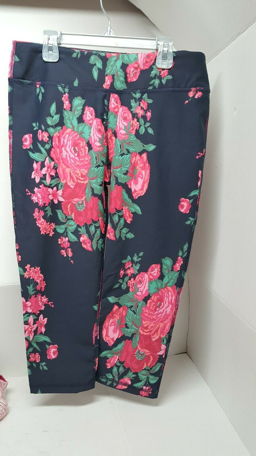ALBION ANTIGUA HIGH-WAISTED CAPRIS SIZE L