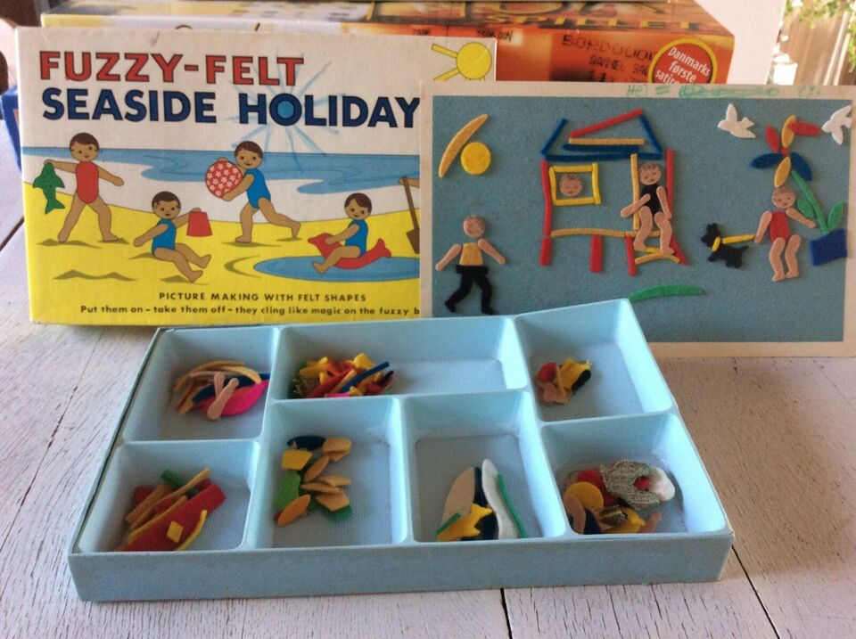 Fuzzy-felt seaside holiday, puslespil