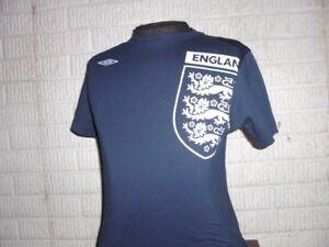 edb2733ca Image is loading ENGLAND-soccer-jersey-style-shirt-youth-Large-Umbro