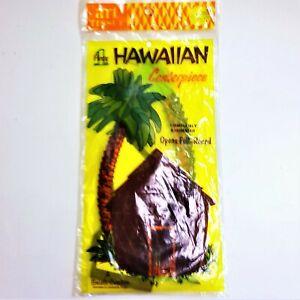 Vintage-1950s-BEISTLE-HAWAIIAN-Art-Tissue-CENTERPIECE-MINT-IN-PACKAGE-NOS