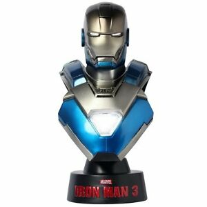 $50 Hot Toys Iron Man 3 Iron Man Mark 30 1//6 Scale Bust Figure blue