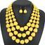 Charm-Fashion-Women-Jewelry-Pendant-Choker-Chunky-Statement-Chain-Bib-Necklace thumbnail 109
