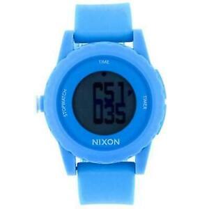 f16433841 Nixon A326230 Women's Genie Blue Silicone Digital Sport Watch for ...