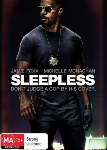 1 of 1 - Sleepless (DVD, 2017) NEW