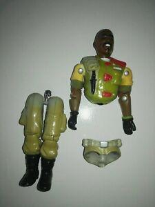 Gi-Joe-Original-1989-ROADBLOCK-v2-action-figure-For-repair-Hasbro