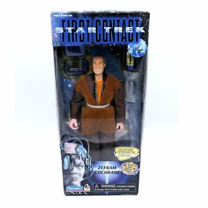 Star-Trek-First-Contact-Zefram-Cochrane-figurine-Collectors-Series-Edition-1996
