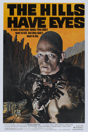 """/""""THE HILLS HAVE EYES/"""" ..Classic 1977 Horror Movie Poster A1 A2 A3 A4Sizes"""